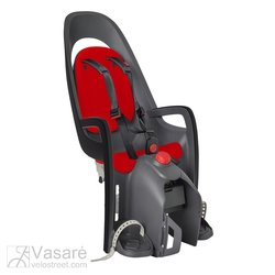 Child seat Hamax Caress w carrier adapter Grey/Red