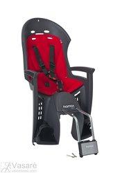 Vaikiška kėdutė ant galo Hamax Smiley Pilka/Raudona