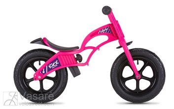 Children balance/running bike  Drag Kick  pink