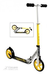 City Scooter Fuzion Cityglide Alu silver/yellow