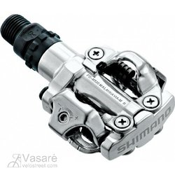 Clipless pedals  PD-M520 SHIMANO with cleats silver