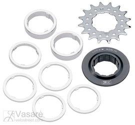 COG SINGLE SPEED -16 T CrMo-steel, set
