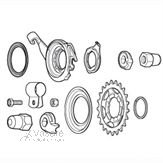 COMPONENTS FOR SG-8R31/8R36/8C31/S501