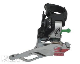 Derailleur Deore XT Dual Pull 31,8 mm FD-T 781,Down-Swing, 63-66° silver