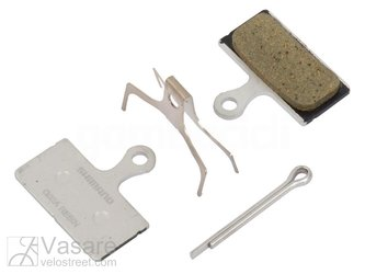 Disc Brake Pad Set Resin G02A Incl Spring/Split Pin