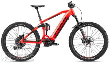 El. dviratis Fuji BlackHill Evo 27.5+ 1.3 Satin Red