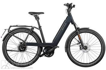 Elektrinis dviratis Riese & Müller Nevo3 GT Vario HS 45km/h Belt Lunar grey 625Wh