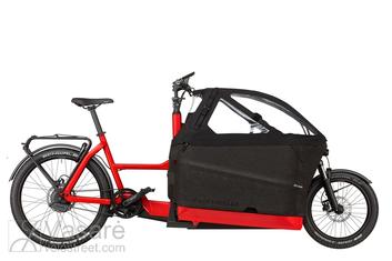 El. Dviratis Riese & Müller Packster 70 Vario 1250Wh Chili red matt