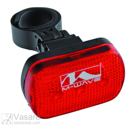 Flashlight, red, 3 red LEDs