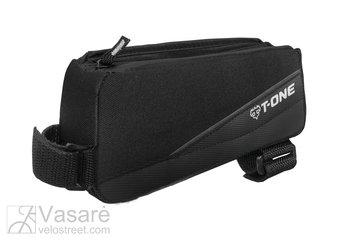 Rėmo krepšelis T-One TPU, juodas