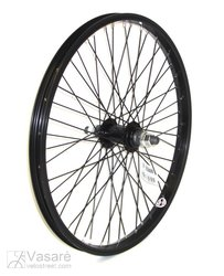 Front wheel BMX 20x1.75 48 hole black