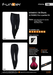 Funkier Woman Winter pants 7/8