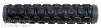 grip VELO, 2-component-grip, soft D2 mixture outer for comfort and shock-absorbing, soft knobs avoid additinally slippin