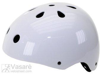 Helmet BMX size: L, white