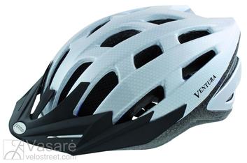 Šalmas dviratininkui white Carbon dydis 58-61cm L