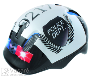 Helmet for children, Police