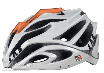 Helmet LAS ANUBI, size 53-59, white/orange