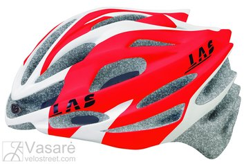 Helmet LAS ASTEROID white/red