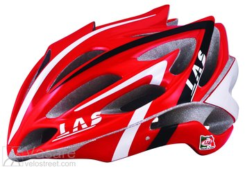 Helmet LAS Victory Red/White/Black