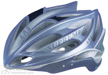 Helmet LAS Victory Supreme 13 Anthracite/silver matt