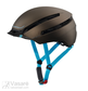 Bike Helmet Cratoni C-Loom (53-57cm) brown/blue gummed