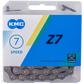 Grandinė KMC Z7 grey/brown 114 links missing link box