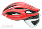 Helmet Cratoni C-Shot  red-white glossy M-L