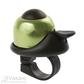 Mini bell M-WAVE, alloy green / black plastic base