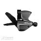 Pavarų perjungimo rankenėlė Shimano Altus SL-M370 Altus Black 9sp