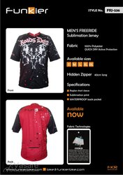 Jersey Freeride FRJ-536XL