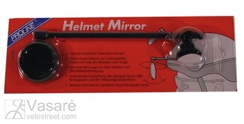 Mirror for mounting on helmet