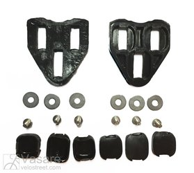 Pedal cleats for LOOK pedals NOT KEO system black