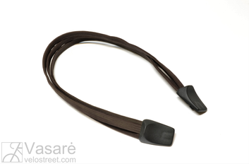Bagažo tvirtinimo dirželiai Rack Strap Triple 540mm Dark brown 191141