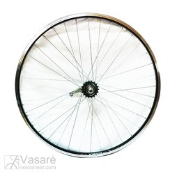 "Rear wheel 28"", Coaster brake, Double wall rim"