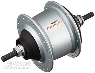Galinio rato stebulė Shimano Nexus SG-C6000-8V 8sp, 36H, Sil St nut 132/184