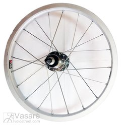 "Rear wheel MACH1 12"" 16 spoke for freewheel"