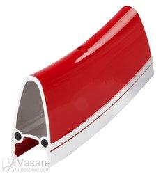 """Ratlankis M-Wave 28"""" 700, 32skyl. dvigubas raudonas"""