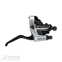 Shift brake lever Shimano Acera ST-T3000 Black/Grey w/brake lever 9sp