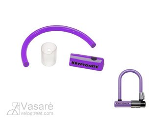 Skin Kryptonite U-tipe lock MINI3.25 purple