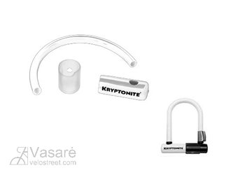Skin Kryptonite U-tipe lock MINI3.25 white
