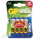Battery AA/LR6, 1,5V, Ultra Plus Alkaline, 1 pcs.