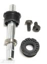 BB-set BSA Twist 128K/123mm Zn Axle L2=28,40mm right