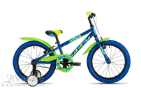 Bicycle 16 Drag RUSH blue/green