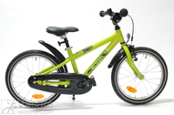 "Bicycle 18"" Kn-Al-DRT R28 RBN U DIRT ROCKY Lime-Green MATT"