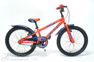 Fahrrad 20 Drag RUSH red/blue