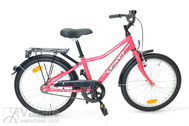 "Bicycle 20""Kn-Al-ATB R30 RBN U Curve Hibiscus-red"