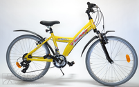 "велосипед 24"" Kn-Al-ATB R36 T21 F BANANA True yellow"