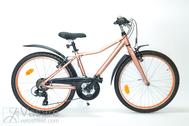 "Bicycle 24""Kn-Al-ATB R36 T21 U CURVE Copper-meta"