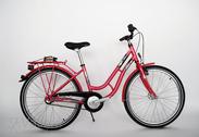 "Bicycle 24""Ma-St-ATB R36 3NX U TOUREN Hibiscus-red"