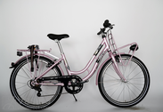 "Bicycle 24""Ma-St-ATB R36 T07 U TSP Pink-mant"